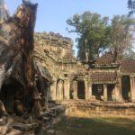 Temple Preah Khan, Angkor, Cambodge