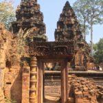 Temple Banteay Srey, Angkor, Cambodge