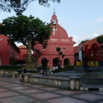 Eglise de la Dutch Square, Malacca, Malaisie