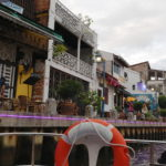 Croisière sur la rivière, Malacca, Malaisie