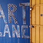 Art lane entrance, Georgetown, Malaisie