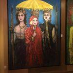 Toile de la galerie d'art, Malacca, Malaisie