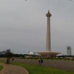 Monument National sur la place Merdeka, Jakarta, Indonésie