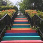 Happy steps, Mount Faber park, Singapour